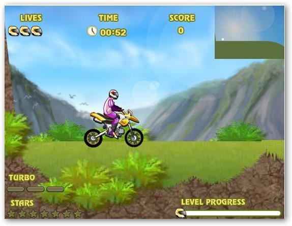 Мотокросс по горам/Uphill Rush Онлайн