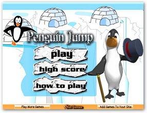 Прыжки пингвинов / Penguin jump Онлайн