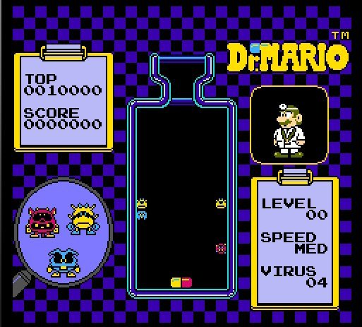 Доктор Марио / Dr. Mario (денди) Доктрис Онлайн