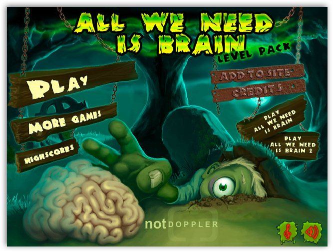 Зомби и мозги. Level Pack / All we need is Brain Level Pack
