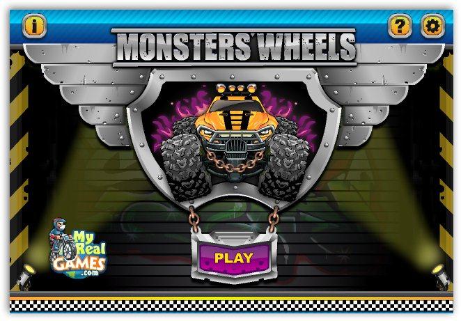Колеса монстров / Monsters Wheels