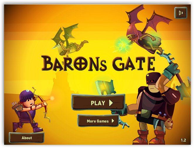 Отважный лучник / Barons Gate